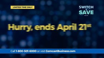 Comcast Business Switch & Save Days TV Spot, 'Excited Business Owners: $500 Prepaid Card' - Thumbnail 7