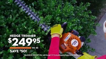 STIHL TV Spot, 'Real People: Hedge Trimmer & Grass Trimmer' - Thumbnail 5