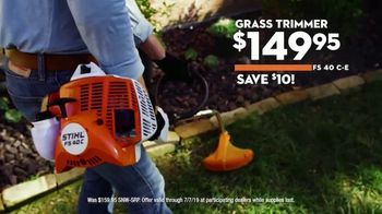 STIHL TV Spot, 'Real People: Hedge Trimmer & Grass Trimmer' - Thumbnail 6