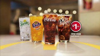 McDonald's $1 Soft Drinks TV Spot, 'Joy Included' - Thumbnail 1