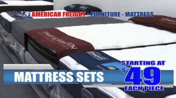 American Freight Mattress Blowout TV Spot, 'Dream Sleep and Resort Gold' - Thumbnail 2