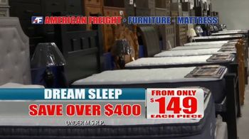 American Freight Mattress Blowout TV Spot, 'Dream Sleep and Resort Gold' - Thumbnail 7