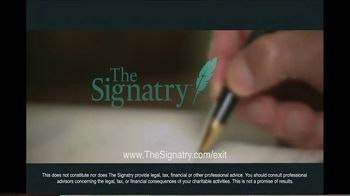 The Signatry TV Spot, 'Generous Charitable Giving' - Thumbnail 10