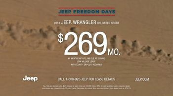 Jeep Freedom Days TV Spot, 'Quotes' [T2] - Thumbnail 10