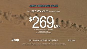 Jeep Freedom Days TV Spot, 'Quotes' [T2] - Thumbnail 9