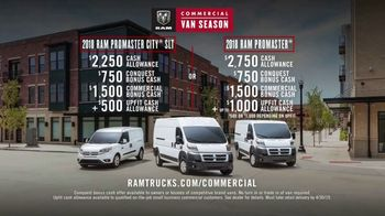 Ram Trucks Commercial Van Season TV Spot, 'Rely on Us' [T2] - Thumbnail 9