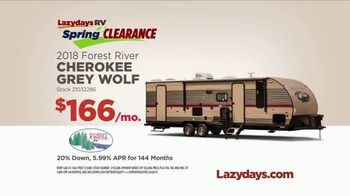 Lazydays Spring Clearance TV Spot, 'Travel Trailers' - Thumbnail 8