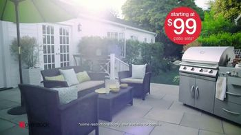Overstock.com Spring Black Friday Blowout TV Spot, 'Patio Sets, Area Rugs and Furniture' - Thumbnail 5