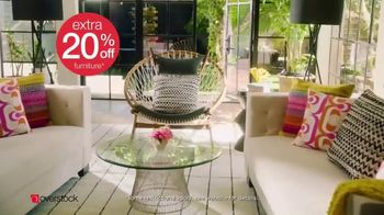 Overstock.com Spring Black Friday Blowout TV Spot, 'Patio Sets, Area Rugs and Furniture' - Thumbnail 8