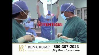 Ben Crump Law TV Spot, 'Hernia Surgery' - Thumbnail 1