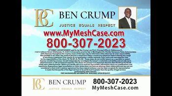 Ben Crump Law TV Spot, 'Hernia Surgery' - Thumbnail 10