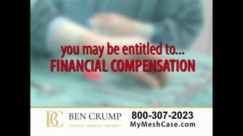 Ben Crump Law TV Spot, 'Hernia Surgery' - Thumbnail 6