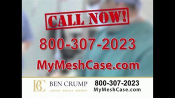 Ben Crump Law TV Spot, 'Hernia Surgery'