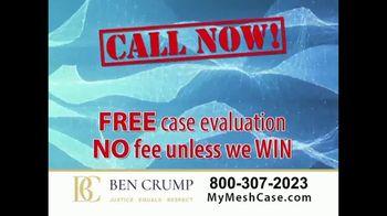 Ben Crump Law TV Spot, 'Hernia Surgery' - Thumbnail 9