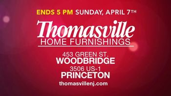 Thomasville Home Furnishings of New Jersey TV Spot, 'Closing Their Doors' - Thumbnail 6