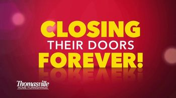 Thomasville Home Furnishings of New Jersey TV Spot, 'Closing Their Doors' - Thumbnail 1