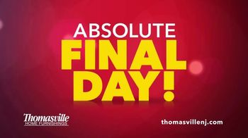 Thomasville Home Furnishings of New Jersey TV Spot, 'Closing Their Doors' - Thumbnail 5
