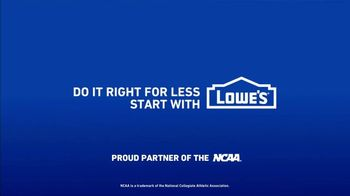 Lowe's Spring Black Friday Sale TV Spot, 'Finish Strong: Trimmer' Featuring Jay Wright - Thumbnail 9