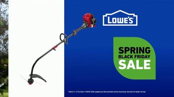 Lowe's Spring Black Friday Sale TV Spot, 'Finish Strong: Trimmer' Featuring Jay Wright - Thumbnail 7