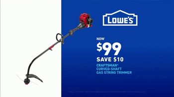 Lowe's Spring Black Friday Sale TV Spot, 'Finish Strong: Trimmer' Featuring Jay Wright - Thumbnail 8