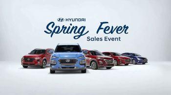 Hyundai Spring Fever Sales Event TV Spot, 'Feeling the Fever' [T2] - Thumbnail 4