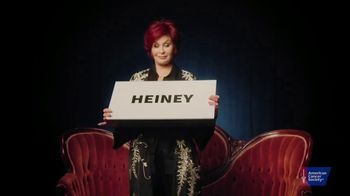 American Cancer Society TV Spot, 'Colon Cancer' Featuring Sharon Osbourne - Thumbnail 1