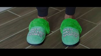 Hulu With Live TV TV Spot, 'Hulu Has Live Sports: Slippers' Featuring Giannis Antetokounmpo - Thumbnail 4