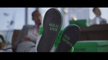 Hulu With Live TV TV Spot, 'Hulu Has Live Sports: Slippers' Featuring Giannis Antetokounmpo - Thumbnail 8