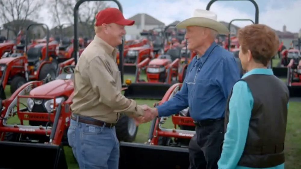 Mahindra Demo and Drive Sale TV Commercial, 'Get More: Tractor'