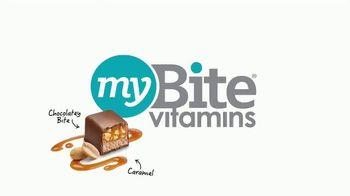 MyBite Vitamins Adult Multivitamin TV Spot, 'Each Bite' - Thumbnail 2
