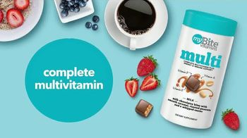 MyBite Vitamins Adult Multivitamin TV Spot, 'Each Bite' - Thumbnail 6