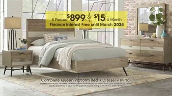 Rooms to Go Anniversary Sale TV Spot, 'Contemporary Bedroom' - Thumbnail 4