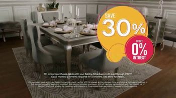 Ashley HomeStore Sale & Clearance Event TV Spot, 'Coralayne and Alano' Song by Midnight Riot - Thumbnail 4
