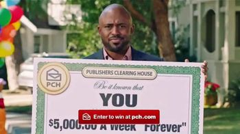 Publishers Clearing House Forever Prize TV Spot, 'Just Keeps Coming' Featuring Wayne Brady - Thumbnail 8