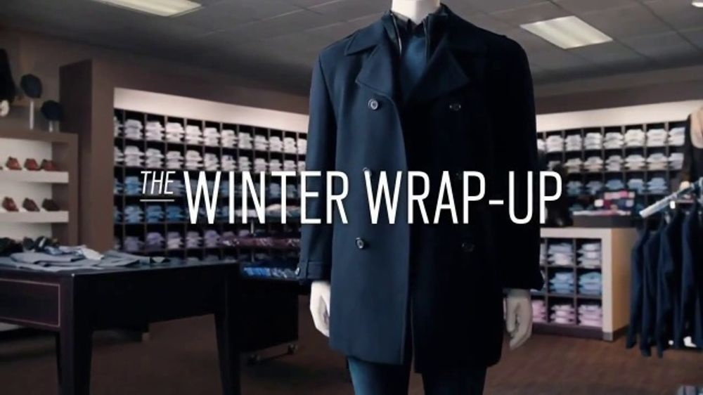 Men's Wearhouse Winter Wrap-Up TV Commercial, 'The Cold Weather Isn't Over'