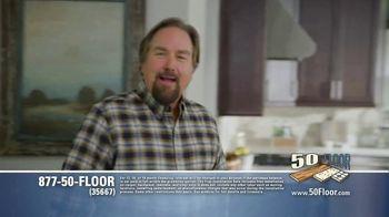50 Floor TV Spot, 'Floor Time' Featuring Richard Karn - Thumbnail 1