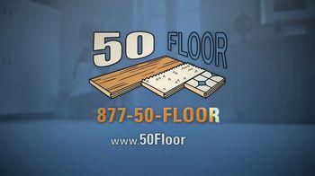 50 Floor TV Spot, 'Floor Time' Featuring Richard Karn - Thumbnail 10