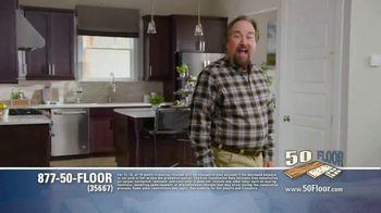 50 Floor TV Spot, 'Floor Time' Featuring Richard Karn - Thumbnail 2