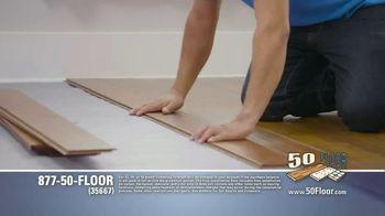 50 Floor TV Spot, 'Floor Time' Featuring Richard Karn - Thumbnail 3