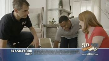 50 Floor TV Spot, 'Floor Time' Featuring Richard Karn - Thumbnail 4