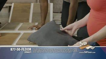 50 Floor TV Spot, 'Floor Time' Featuring Richard Karn - Thumbnail 5
