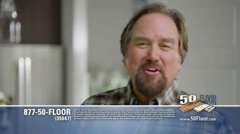 50 Floor TV Spot, 'Floor Time' Featuring Richard Karn - Thumbnail 6