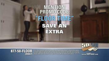 50 Floor TV Spot, 'Floor Time' Featuring Richard Karn - Thumbnail 8