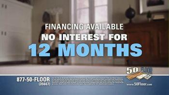 50 Floor TV Spot, 'Floor Time' Featuring Richard Karn - Thumbnail 9