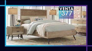 Rooms to Go Venta y Liquidación de Enero TV Spot, 'Camas de cinco piezas' [Spanish] - Thumbnail 3