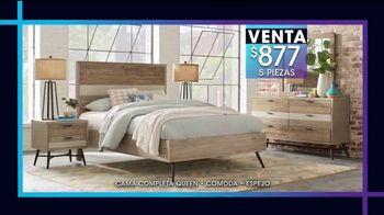 Rooms to Go Venta y Liquidación de Enero TV Spot, 'Camas de cinco piezas' [Spanish] - Thumbnail 4