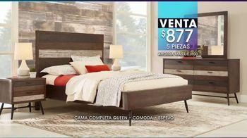 Rooms to Go Venta y Liquidación de Enero TV Spot, 'Camas de cinco piezas' [Spanish] - Thumbnail 5