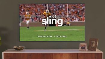 Sling TV Spot, 'Statue: Seven Days Free' Featuring Nick Offerman, Megan Mullally - Thumbnail 8