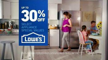 Lowe's TV Spot, 'Fridge Moment: 30 Percent Off' - Thumbnail 9