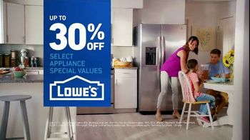 Lowe's TV Spot, 'Fridge Moment: 30 Percent Off'